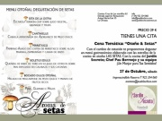 Cena Temtica: Otoo Setas