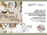 BRUNCH VINTAGE 3, ¡Desayuno y Mercadillo!